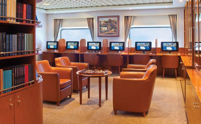 Bibliothek - Seven Seas Navigator